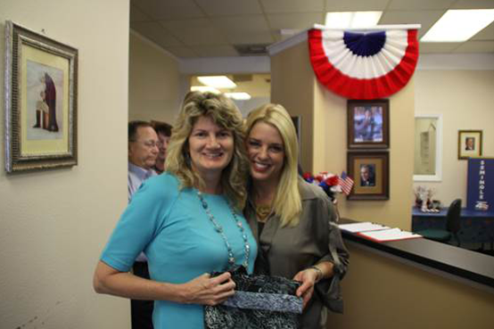 Elizabeth and Florida Attorney General Pam Bondi