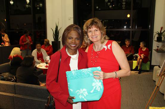 Florida House of representative, Val Demings, attended my Go Red Speaking (Event Orlando, FL)