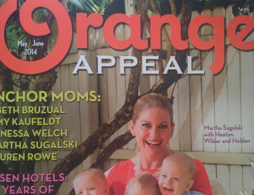Xena Collection Featured in Orange Appeal's TheList